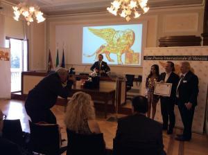 Gran Premio Internazionale di Venezia 26/10/19: Riconoscimento speciale alla carriera al M° Federico Paci