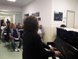 Musica in corsia: M° Mazzoccante - pianoforte
